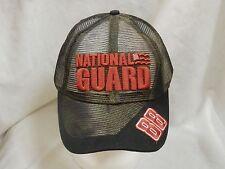 trucker hat baseball cap NATIONAL GUARD mesh style nice quality curved brim