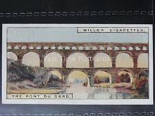 No.36 THE PONT DU GARD Wonders of the Past - W.D. & H.O.Wills 1926