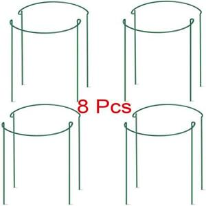 1/8x Bow Plant Support for Peonies, Hydrangea, etc - Strong Metal Garden Support