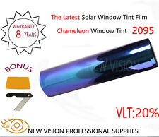 Color Change VLT20% Chameleon Window Tint Film SRC 75cmX3m Color Blue to Purple