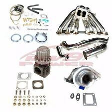 IS300 SC300 Supra mk4 2jzge T4 Top Mount Manifold Turbo Kit 400hp