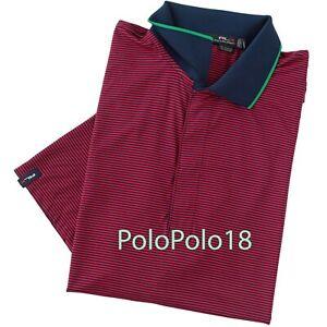 New $89.50 Ralph Lauren RLX Logo Golf Wicking Polo Shirt