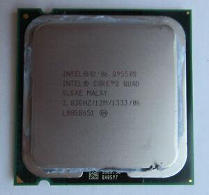 Genuine SLGAE Intel Core 2 Quad Q9550S 2.83GHz Desktop Processor