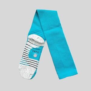 Nike Grip Miami Dolphins Solid NFL Football Team Issued Game Socks Size LGT