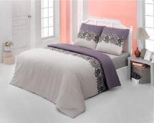 Bettwäsche 200x220 Baumwolle Bettgarnitur mit Reißverschluss 3 teilig L-7709