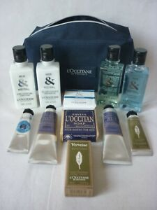 L'occitane assorted gift set 11 pieces unwanted gift new 11 pieces plus wash bag