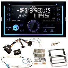 JVC KW-DB93BT USB Bluetooth Einbauset für Ford Focus Mondeo S-Max Galaxy
