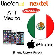 ATT MEXICO iPhone 8 8+ 8 Plus UNLOCK CODE SERVICE Iusacell Nextel Unefon