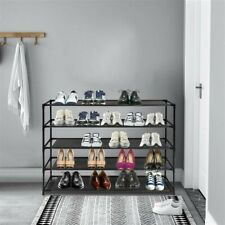 NEW ! Shoe Rack Tier Storage Organizing Home Organizer Holder Tower Wall