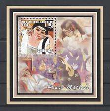 Mozambique 2002 Images of Women By Painter Henri Mattisse MNH Souvenir Sheet