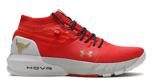 Under Armour HOVR Men Project Rock 2 Veterans Day Red Training Shoes 3022024 604