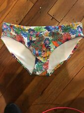 BNWT Freya Swim Island Girl Bikini Bottom Size Large Multicolor AS2983TRL