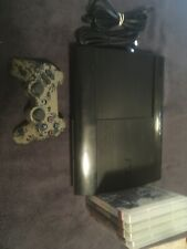 Sony PS3 Super Slim CECH-4301C 500GB Bundle with 4 Games - TESTED