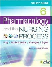 SHIPS DAILY LIKE NEW  Study Guide for Pharmacology and the Nursing Process