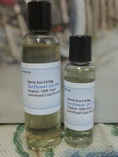 Sunflower Oil 100% Pure ,Unrefined Seeds ,Cold Pressed 4oz.