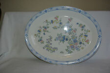 "Royal Doulton Coniston 16"" Bone China Meat Dish Serving Platter Plate"