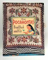 Pocahontas Bead Book Disney 1995 Craft Artwork Beadwork NO KIT beading learn