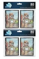 160 ct. Star City Games Bonechewer Giant Standard Size Card Sleeves MTG TCG