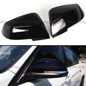 For 2014-2020 BMW F30 F22 F32 F33 Painted Glossy Black Replacement Mirror Covers