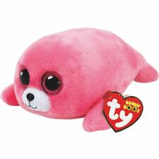 NEW TY BEANIE BOOS - PIERRE THE PINK SEAL MEDIUM 37085