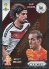 Panini Prizm Wold Cup 2014 Matchups #27 Sami Khedira & Wesley Sneijder