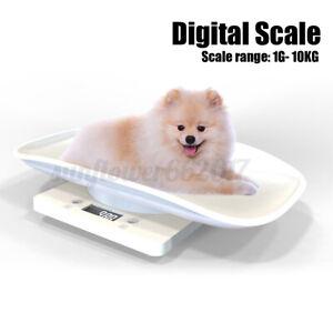 Electronic Digital Dog Cat Animal Pet Scale Pediatric Weight Tracker Managemen