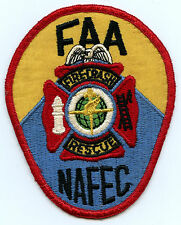 FAA Patch NAFEC National Aviation Facilities Experimental Center Fire Rescue