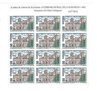 MP.46 Minipliego Patrimonio Mundial de la Humanidad 1993 sellos España Spain
