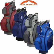 Sun Mountain 2019 C130 Golf Cart Trolley Bag 14 Way Full Lengths Divider Top