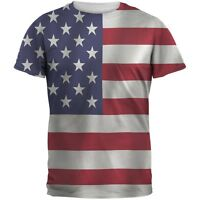 American Flag Sublimated Adult T-Shirt