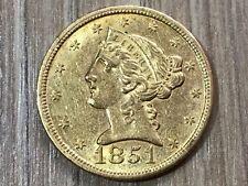 5 Dollar 1851 USA Or #21/6#