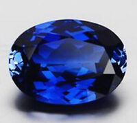 EXQUISITE 9.03CT ROYAL BLUE SAPPHIRE 10x14mm OVAL CUT AAAAA VVS LOOSE GEMSTONE