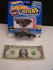 Hot Wheels Batmobile Color Shifters Water Revealers - Black - 2010