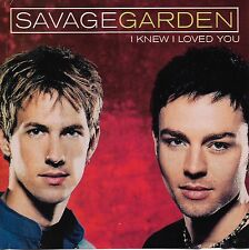 I Knew I Loved You [Single] by Savage Garden (Cd Nov-1999) [2 Versions]