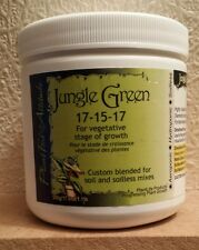Plant Life Products JUNGLE GREEN for the vegetative stage of growth 500g tub.
