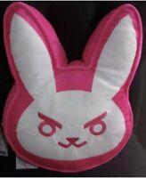 Blizzard Overwatch DVA Pink Bunny Plush Pillow Brand New Unused Blizzcon Diva