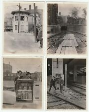 RARE Archive 21 Photos - Pawtucket-Central Falls RR Station RI 1915 Construction
