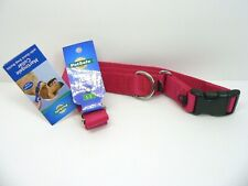 "PetSafe Martingale Collar with Quick Snap Buckle 1"" Red Large 13 - 20 Inch - New"