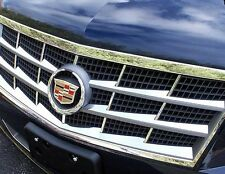 Cadillac STS 2008 2009 2010 2011 STAINLESS STEEL GRILLE OVERLAY INSERTS!!