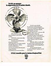 PUBLICITE  1974    UGC  travaille pour le cinéma