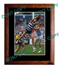 CAMERON MOONEY GEELONG FC STAR LARGE A3 MARKING PHOTO