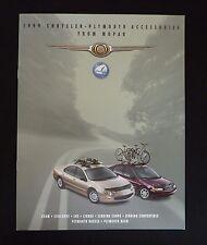 1999 Chrysler Plymouth Accessories Dealer Sales Brochure~300M Sebring Breeze LHS
