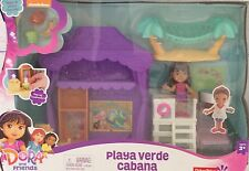 NIB Fisher Price Dora and Friends Playa Verde Cabana