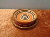 Gmundner Keramik Design Bowl and Wall Plate - Austria