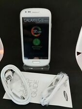 Samsung Galaxy S3 Mini GT-I8190 - 8GB - Marble White Smartphone-2 Yr Warranty