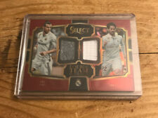 2017-18 Select Soccer Double Team Gareth Bale & Isco Jersey /199 Real Madrid