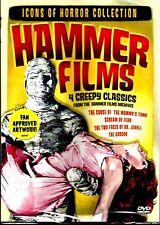 Hammer:Icons Of Horror. 4 Film Set. Brand New In Shrink!