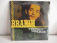 BRAHIM J'entends les cris PROMO CD SINGLE S/S