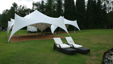 Commercial Wedding Event Camping Beach Yard Patio Pool Marquee Stretch Tent NEW