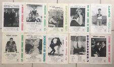 Lot de 10 Synopsis Dossiers de Presse COLUMBIA FILMS